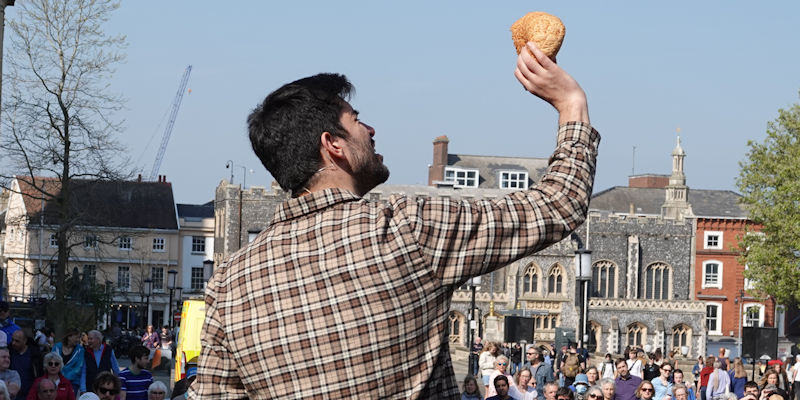 Passion Play* Celebrate Norfolk is planning to bring a Passion Play to the streets of Norwich at Easter.* Read more